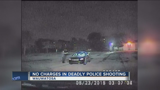 Wisconsin officer will not be charged in black man's death