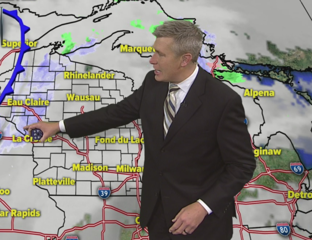 Cloudy Tuesday, highs in upper 30s