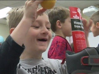Meijer donates 400 boots to Waukesha school
