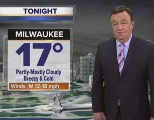 Sunshine, but windy and cold Wednesday