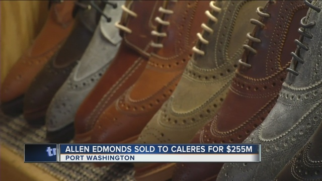 Milwaukee Business Journal: Allen Edmonds acquired for $255M by Missouri shoe company