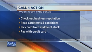 Use caution when buying gift cards, certificates