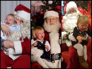 GALLERY: 30 photos of kids traumatized by Santa