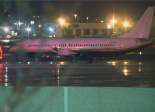 Miami Heat's plane slides on MKE airport runway