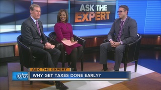 Ask the Expert: Get your taxes done