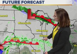 Gloomy but warm weather continues this weekend