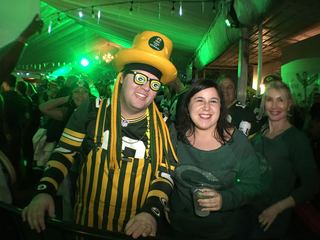 Packers fans rally in Atlanta on eve of big game