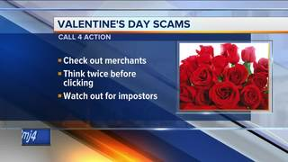 Call 4 Action: Valentine's Day scams