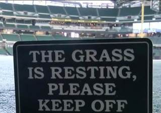 Miller Park preps for upcoming season