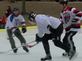 Local group hosts outdoor hockey tournament