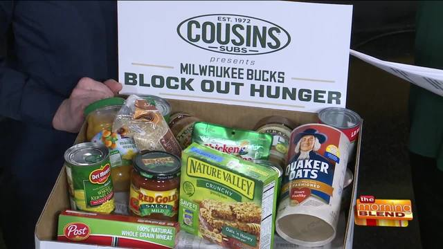 Block out hunger in wisconsin tmj4 milwaukee wi for Milwaukee food pantry locations