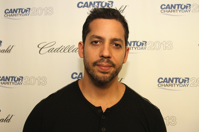 David Blaine to make magic in Norfolk