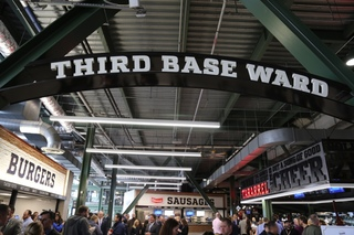 Brewers introduce new concourses at Miller Park