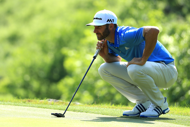 'Back' at it: Dustin Johnson playing Wells Fargo