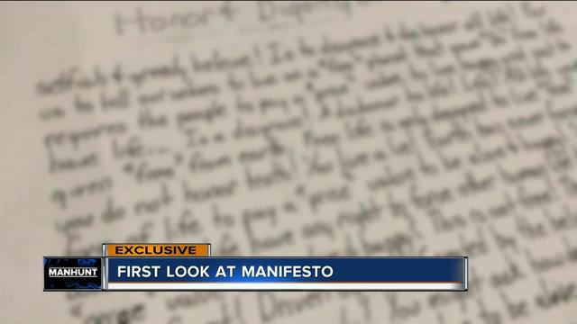 Manifesto-writing fugitive appears in federal court