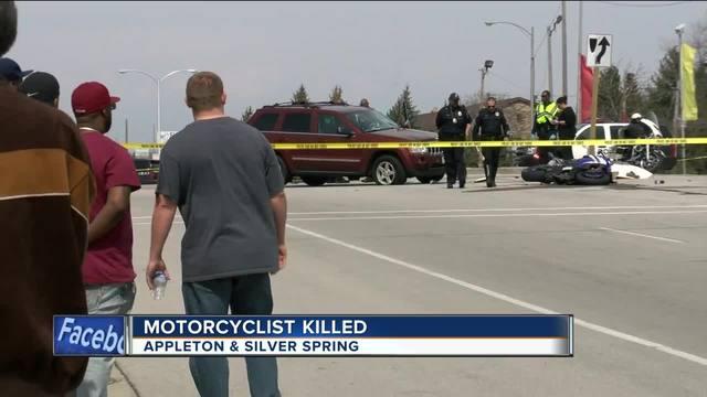 motorcyclist hit  killed in milwaukee