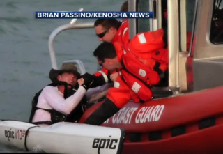 Coast Guard saves Kenosha man