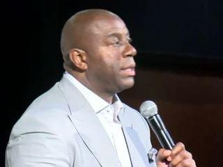 Magic Johnson holds seminar in Milwaukee