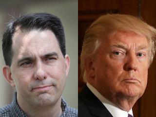 Trump, Walker discuss Wisconsin dairy dispute