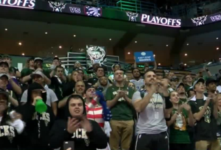 Bucks fan squad celebrates an exciting season