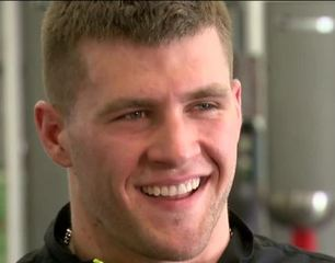TJ Watt goes one-on-one with Lance Allan