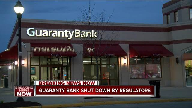Federal regulators close Milwaukee-based Guaranty Bank