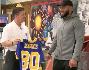 Kendricks returns to home state for the Packers