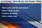 Steer clear of road trip troubles