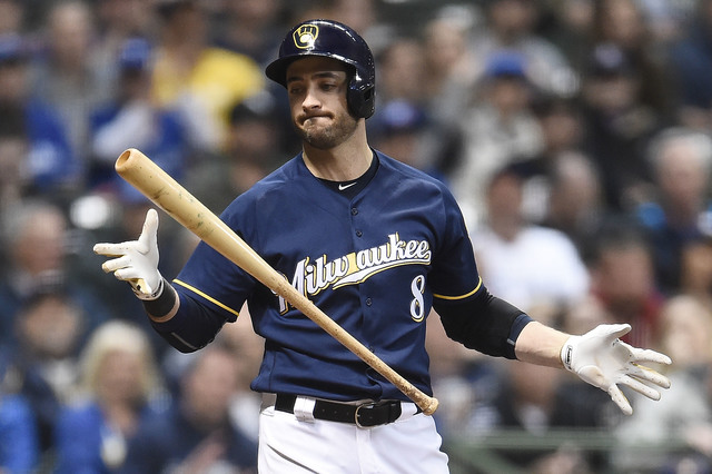 Brewers' Anderson no-hits Diamiondbacks through 7 innings