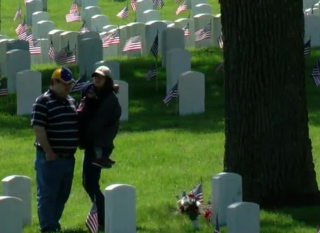Fallen service members honored at Wood Cemetery
