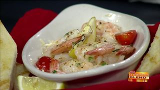 A Tasty New Shrimp Dish from The Machine Shed