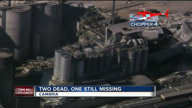 Body recovered at Cambria explosion site