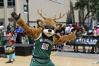 Milwaukee Bucks Block Party