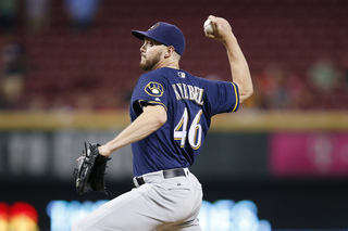 Knebel sets strikeout mark as Brewers beat PIT