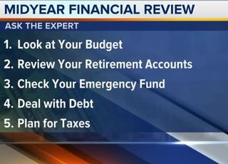 Ask the Expert: Financial midyear review