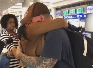 Man detained in Abu Dhabi reunited with sister