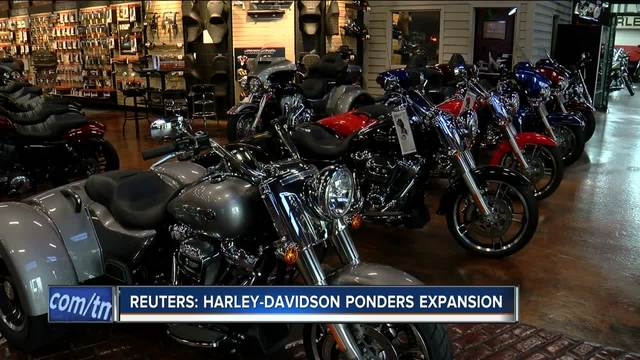 Harley-Davidson (HOG) Given Daily Media Impact Rating of 0.09