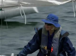 Weekend Warrior: 82-year-old sails everyday