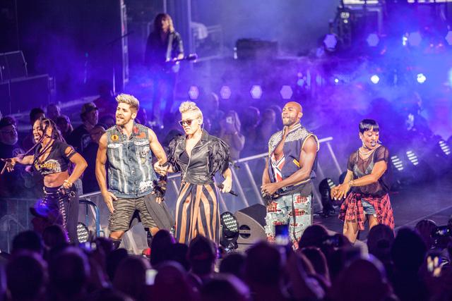 P!nk concert dominates Summerfest weekend - Gallery
