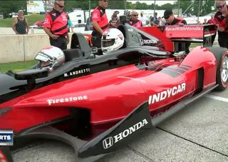 Lance Allan catches up with Mario Andretti