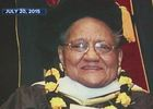 Historian and honorary doctorate passes away