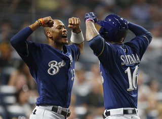 Best Brewers home run celebrations this year