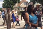 Hundreds march for 6-year-old shooting victim