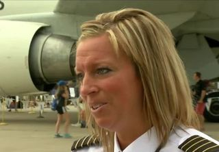 All female flight crew lands Boeing 767 at EAA