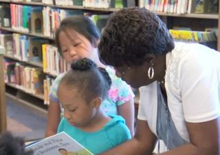 Library program shares joys of reading with kids