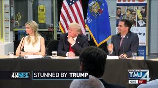 414ward: Trump almost spilled the beans on...