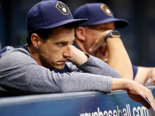 Souza's homer in 9th lifts Rays over Brewers 2-1