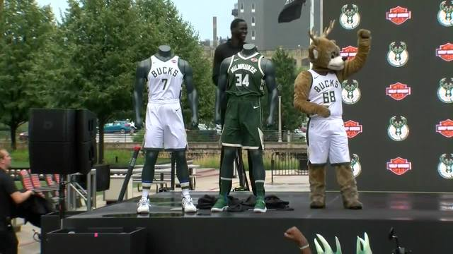 Harley-Davidson inks jersey deal with Bucks