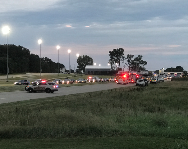 Sheriff: 3 dead in shooting at Wis. racetrack