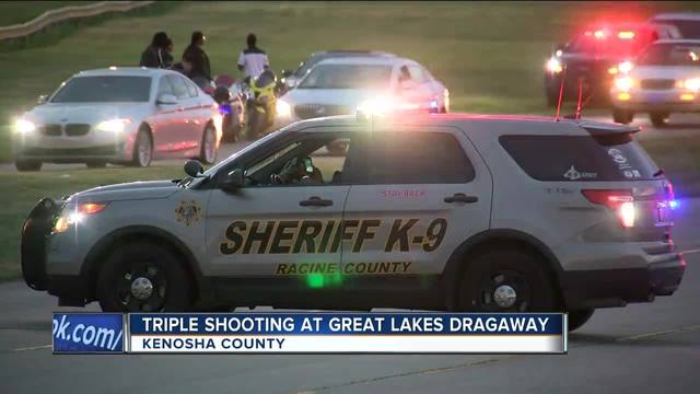 3 dead after shooting at Great Lakes Dragaway in Kenosha County